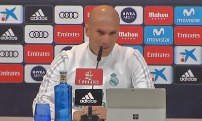 """Zidane """"A la maison on sait très bien comment ils commencent"""""""