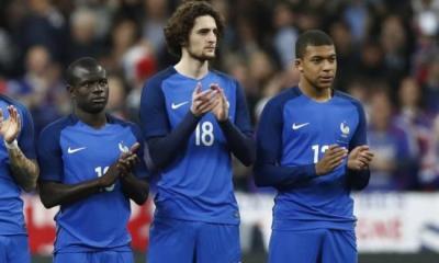 Russie/France - Mbappé et Adrien Rabiot titulaires dans un 4-3-3 ?