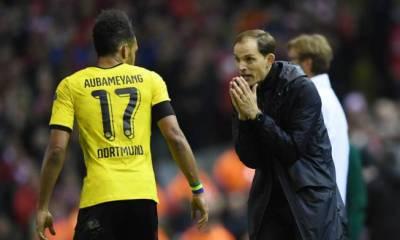 """Aubameyang """"Tuchel ? C'est l'un des meilleurs entraîneurs que j'ai eus. Il pourrait être très bien à Paris"""""""