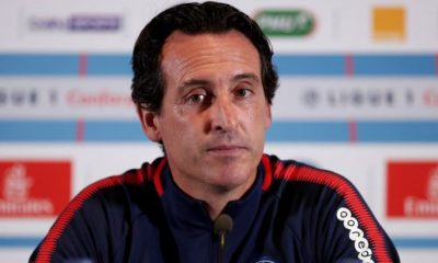 PSG/Rennes - Emery en conf :