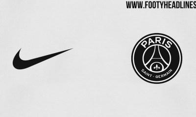 Le 3e maillot du PSG 2018-2019 devrait être blanc et noir, selon Footy Headlines