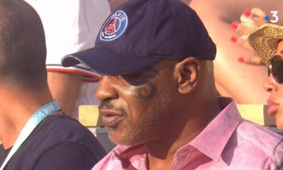 Mike Tyson aperçu à Roland-Garros avec une casquette du PSG