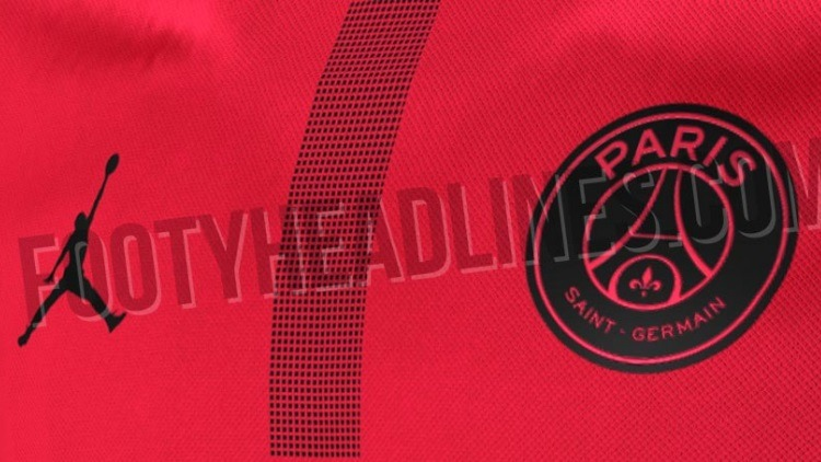 various styles wholesale outlet first look PSG: Foot Headlines dévoile un maillot rouge en ...