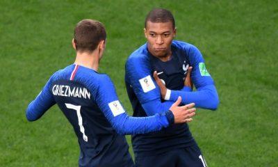 """France/Croatie - Griezmann """"Mbappé nous fait énormément de bien...j'espère qu'on verra un grand Kyky"""""""