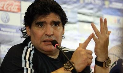 "Maradona ""La VAR devrait changer la façon de penser de Neymar"""