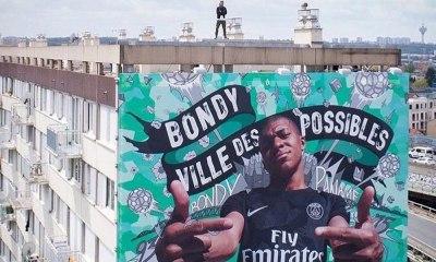Kylian Mbappé retrouvera sa fresque sur les murs de Bondy