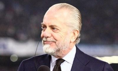 Mercato - De Laurentiis l'explique encore Naples n'est pas intéressé par un retour de Cavani
