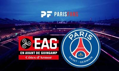 Guingamp/PSG - Les équipes officielles : Mbappé et Diarra sur le banc, Weah et Meunier titulaire