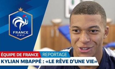 Kylian Mbappé Equipe de France
