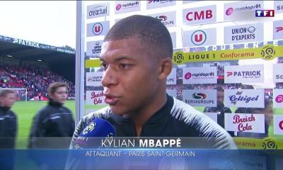 """Mbappé: """"J'ai tout donné à l'entraînement pour qu'il me prenne dans le groupe"""""""