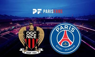 Nice/PSG - Les équipes officielles :
