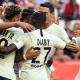 Les images du PSG ce samedi : célébrations de la victoire à Nice et record !