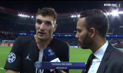"""PSG/Naples - Meunier """"On n'a pas vraiment respecté les consignes, on a joué sur un faux rythme"""""""