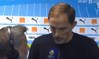 """PSG/Guingamp - Tuchel """"J'espère que c'est un accident"""""""