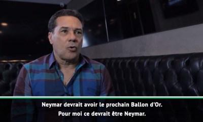 """Luxemburgo: """"Le prochain Ballon d'Or ? Pour moi ça devrait être Neymar"""""""