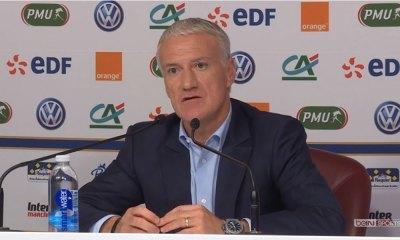 """Deschamps """"Une rivalité Mbappé Griezmann ? Il n'y a jamais eu d'oppositions entre eux"""""""