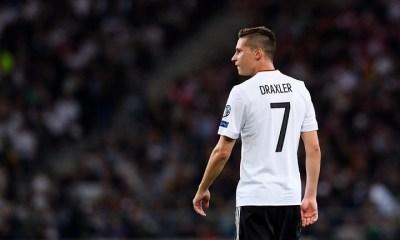 Draxler s'absente du rassemblement de l'Allemagne, pour cause familiale selon L'Equipe