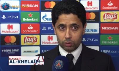 """Nasser Al-Khelaïfi: """" je suis très fier de mes joueurs, de mon coach, du staff, de nos supporters"""""""