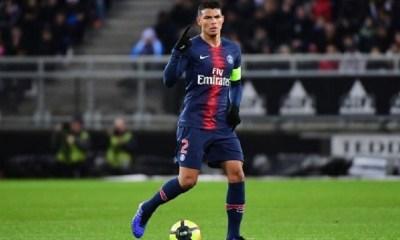 Thiago Silva veut terminer sa carrière au PSG, mais pas en 2020 indique un proche