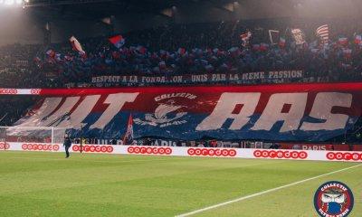 Le tifo prévu pour PSG-OM est annulé par le Collectif Ultras Paris, selon Europe 1