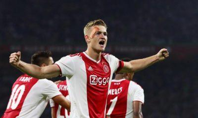 Mercato - De Ligt va bien signer à la Juventus, qui a un accord avec l'Ajax annonce De Telegraaf