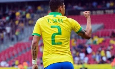Thiago Silva J'ai beaucoup travaillé pour revenir....ça va faire du bien de souffler avec un titre en poche.