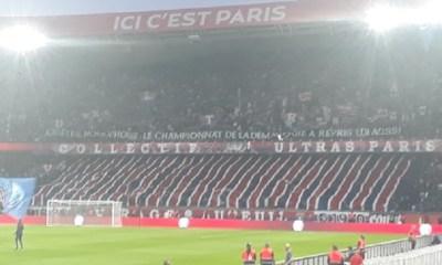 PSG/Toulouse - Vu du Parc : des messages, une bonne ambiance mais deux coups de froid