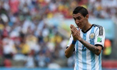 Di Maria encore laissé de côté par l'Argentine, Paredes garde sa place