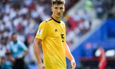 Thomas Meunier titulaire avec la Belgique pour affronter Saint-Marin