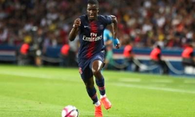 """Nsoki """"Je suis très fier et heureux d'avoir porté et défendu les couleurs de mon club formateur le Paris Saint-Germain"""""""