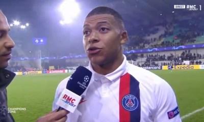 """Bruges/PSG - Mbappé """"je voulais montrer qu'il est difficile de se passer de moi."""""""