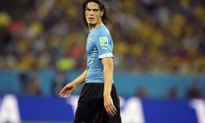 Cavani est appelé par Oscar Tabarez pour jouer avec l'Uruguay durant la trêve internationale de novembre