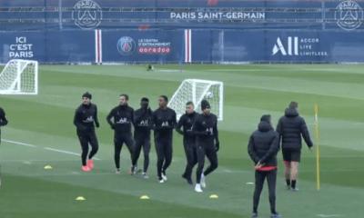 PSG/LOSC - Mbappé et Verratti présents à l'entraînement avec le groupe parisien ce jeudi
