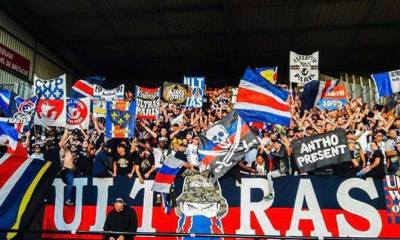"""Le Collectif Ultras Paris a manifesté devant le siège du PSG, puis se dit plutôt """"satisfait"""" de l'écoute du club"""