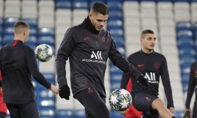 Les images du PSG ce lundi: Arrivée à Madrid, conférence de presse et entraînement
