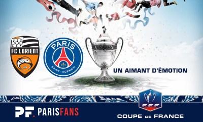 Lorient/PSG - Les équipes officielles