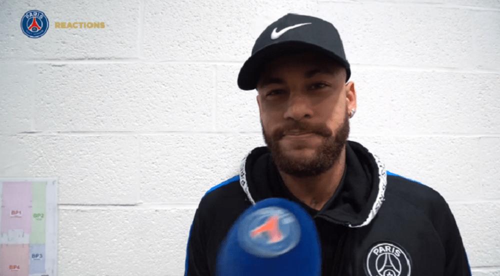 """Lille/PSG - Neymar est """"heureux"""" du match de l'équipe et de sa propre performance"""