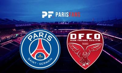 PSG/Dijon - Le groupe parisien