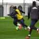 Les images du PSG ce jeudi : entraînements avec vainqueurs et sourires, et l'anniversaire d'Areola