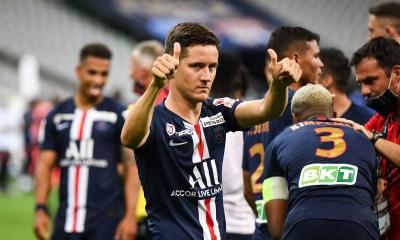 """Herrera rejette l'inefficacité offensive du PSG sur l'OL et est """"optimiste"""" pour Mbappé"""