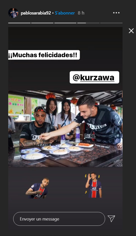 Les images du PSG ce vendredi: Reprise, anniversaire de Kurzawa et le JT