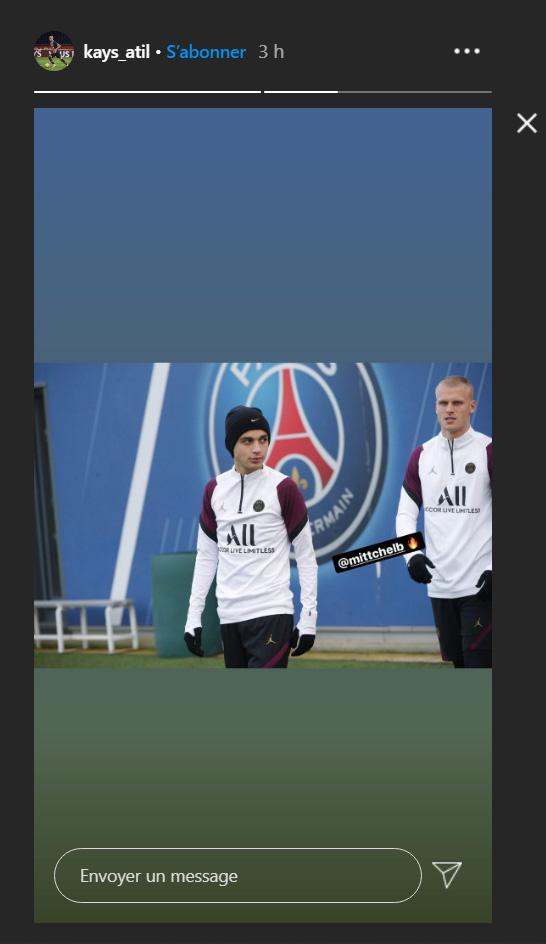 Les images du PSG ce lundi: Entraînement et conférence de presse avant Paris/Leipzig