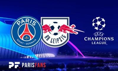 PSG/Leipzig - Les équipes officielles : Paris en 4-3-3 avec Danilo et Bakker titulaires