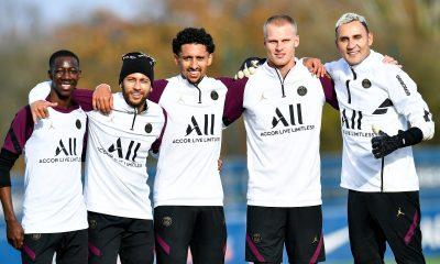 Les images du PSG ce dimanche: Préparation pour la réception de Leipzig