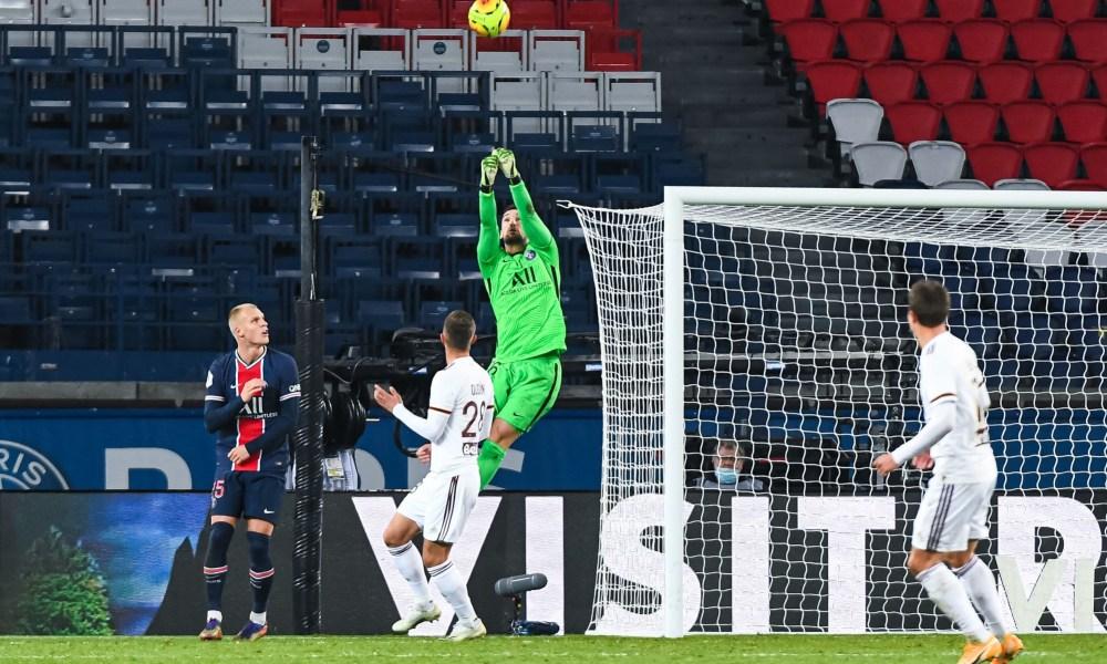 Le PSG a un inquiétant minimum de tirs concédés au Parc des Princes en Ligue 1