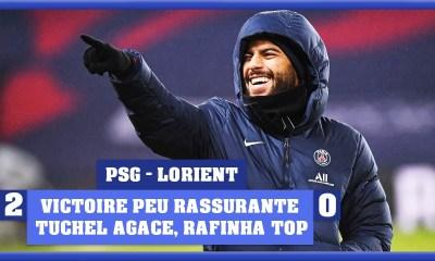 Podcast - PSG/Lorient : Victoire pas rassurante, Tuchel agace et Rafinha fait du bien