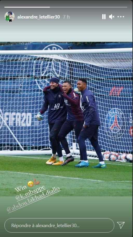 Les images du PSG ce mardi: Entraînement et 11 de légende de Gueye