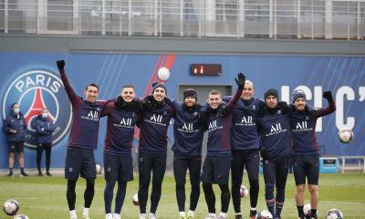 Les images du PSG ce mercredi: Entraînement, cohésion et bonne humeur