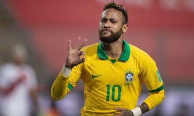 Neymar rejoint Pelé et Ronaldinho notamment au Hall of Fame du football brésilien