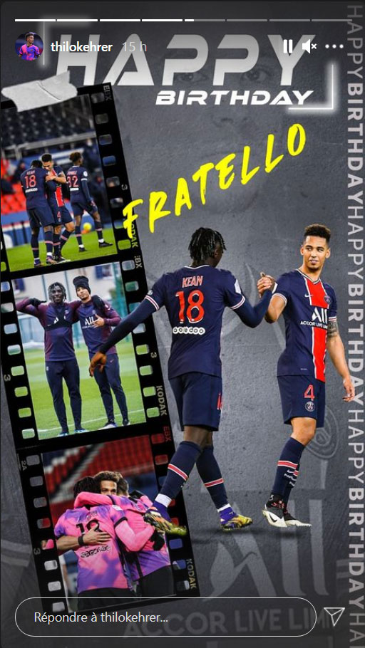 Les images du PSG ce dimanche: Dijon/PSG, repos et anniversaire de Kean